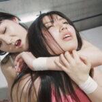 川崎亜里沙vs成宮ありあ 2通りの結末に大興奮の失神続出女子プロレス