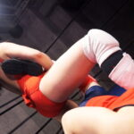 川崎亜里沙&みひながドSに男をいたぶるミックスプロレス対決